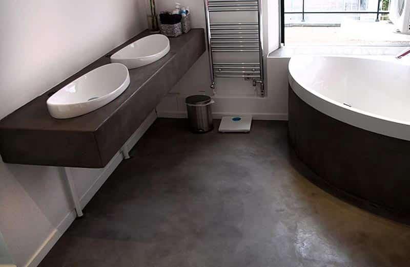 Choisir le béton ciré pour une salle de bain