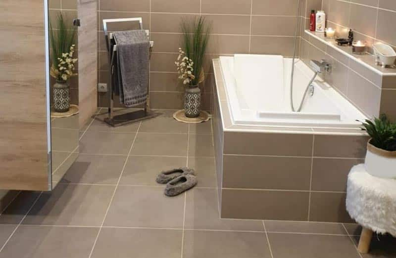 Revêtement de sol pour une salle de bain : choisir du carrelage