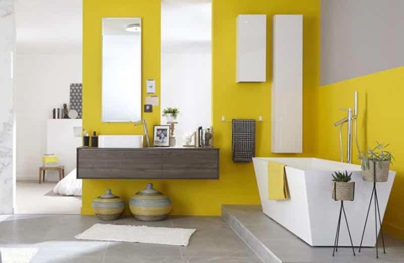 Les différentes peintures utilisables dans une salle de bain