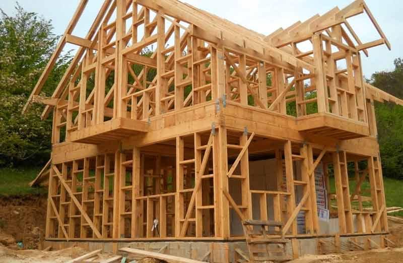 Construire une maison à structure poteaux/poutre
