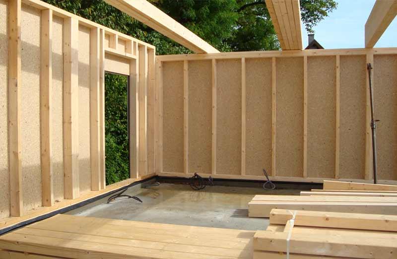 Construire une maison à ossature bois