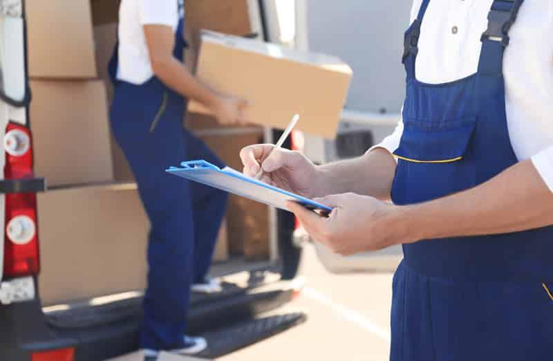 Ce que les déménageurs ne transportent pas