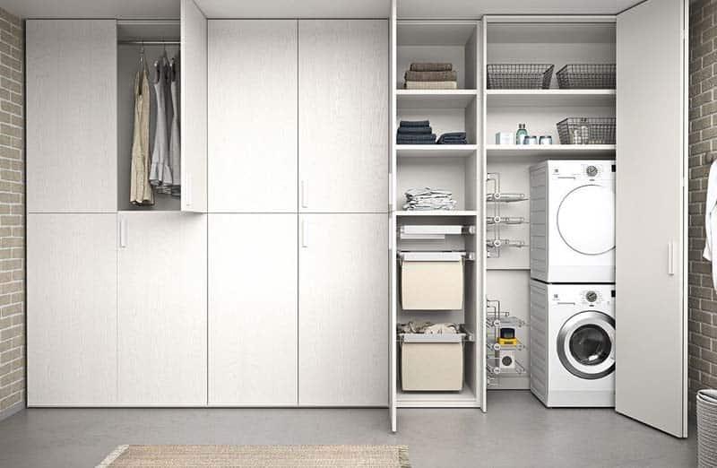 Comment fixer un sèche-linge sur une machine à laver ?