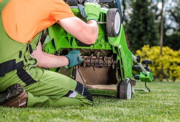 aérateur electrique pour pelouse