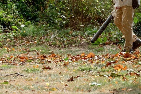 souffleur aspirateur broyeur pour le jardin
