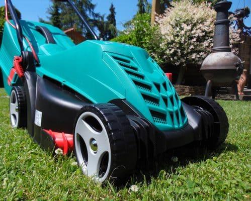 tondeuse a batterie sans fil pour entretien pelouse