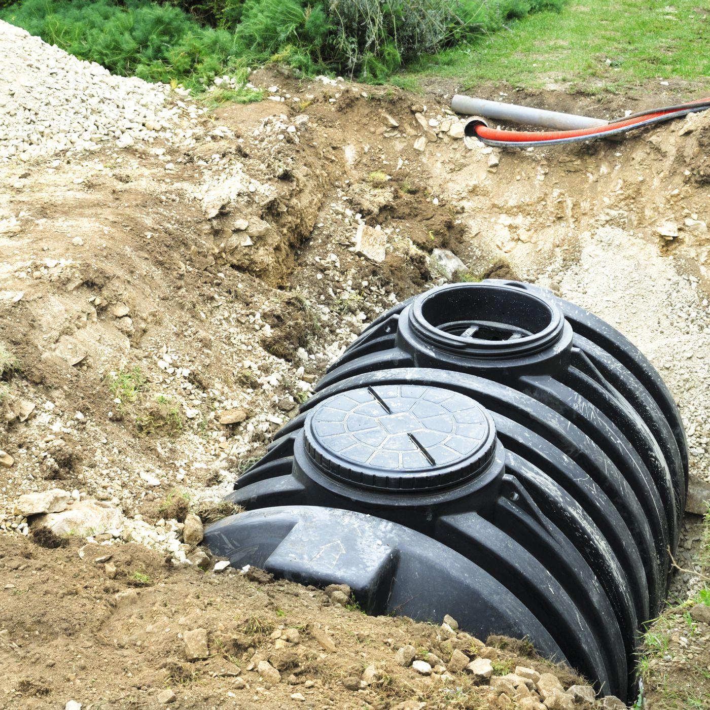 Fosse septique tank