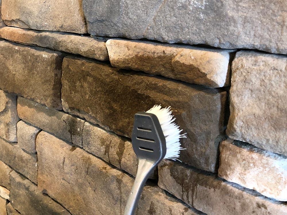 nettoyer murs en pierres