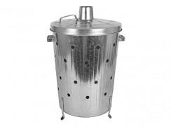Buri Incinérateur galvanisé 75L : cet incinérateur est-il de bonne qualité?