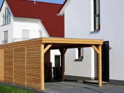 Carport en bois : ses 4 atouts qui mettent tout le monde d'accord
