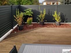 La clôture en alu : le matériau d'avenir pour votre jardin