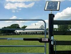 Comment fonctionne un portail électrique solaire ?